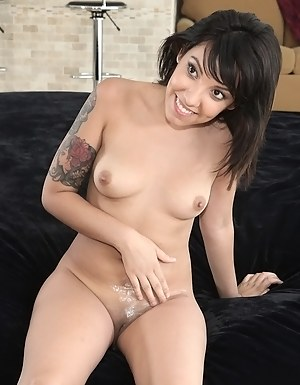 Filthy Latina woman is always happy to have fun with big cock. She is licking balls and sucking boner before getting her nice ass penetrated.