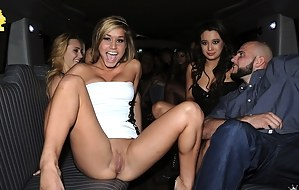 Be ready to visit the hottest group sex party ever. You will meet so many naked babes playing unforgettable games with big cocks of their partners.