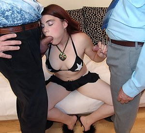 get those senior cocks rocking in this hot young babe