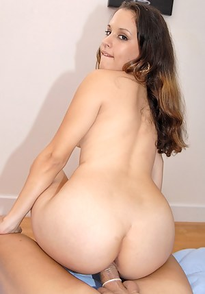 Check out astounding Latina Erika please a sexy fellow with a tremendous blowjob before having her tight pussy fucked in various positions.
