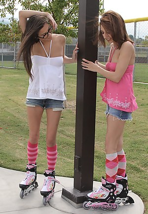 Lexi and April might not be the best at the park, but when brought into Ryan's world, they sure do shine at fucking.