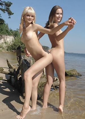Its high time to come close and take a look at these alluring teen girls who pose their beauty outdoors.